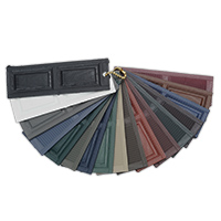 Exterior Shutters Mastic Vinyl Shutters Color Sample Kit