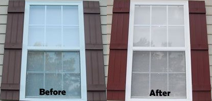 Restore you vinyl shutters in just a few short hours and save hundreds versus buying new vinyl shutters!