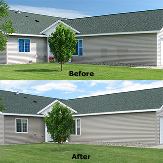 Restoring vinyl siding is easy, environmentally friendly, and economical with Vinyl ReNu. Clean, protect, and restore your vinyl siding today!