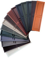 Mastic Window Shutters Color Sample