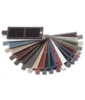 Mid America Vinyl Shutters Color Sample