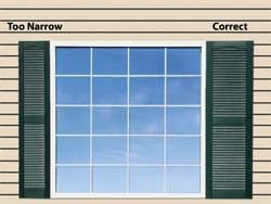 Operable Decorative Shutters How To Measure ShutterContractorcom