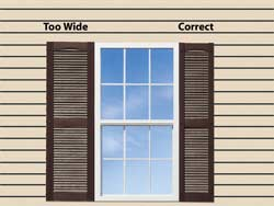 Operable & Decorative Shutters - How To Measure: ShutterContractor.com