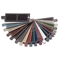 Exterior Shutters Mid America Vinyl Shutters Color Sample Kit